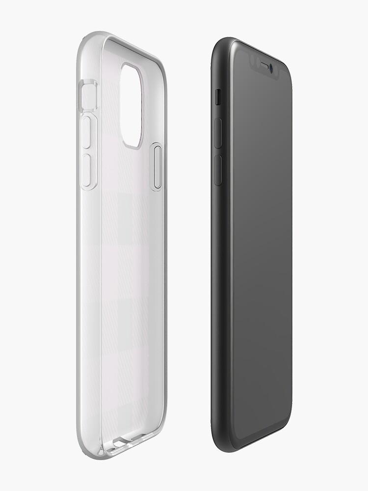 Coque iPhone «Plaid de Buffalo - Baies», par altizzy