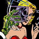 Creepy Horror Pop Art Vintage Comics by thespottydogg
