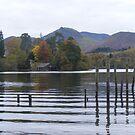 Autumn Lake Keswick by monkeyferret
