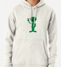 A victorious alien Pullover Hoodie