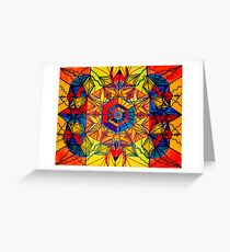 [Frequency Healing] Excitement Greeting Card