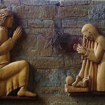 Wall Nativity by lezvee