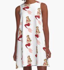 Mermaid Arista  A-Line Dress