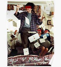 Harry und die Briefe. Poster