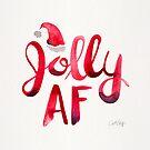 Jolly AF - Rote Palette von Cat Coquillette