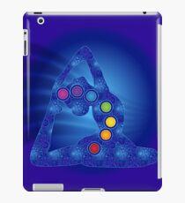 Yoga Pose Chakra Poster iPad Case/Skin