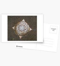 "London. ""The Diana Princess of Wales Memorial Walk"" Star. Great Britain 2009 Postcards"