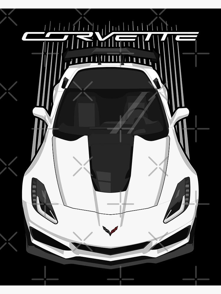Corvette C7 ZR1 - White by V8social