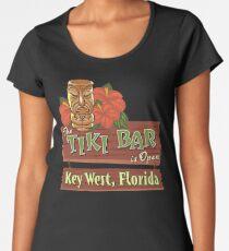 Key West Florida Tiki Bar Women's Premium T-Shirt