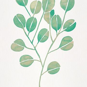 Silver Dollar Eucalyptus – Mint Palette by catcoq