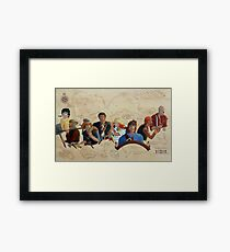 Pirates!   Framed Print