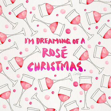 Rosé Christmas – Glass Pattern by catcoq