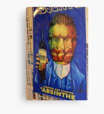 The virtues of Absinthe Metal Print