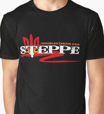 Steppe Grafik T-Shirt