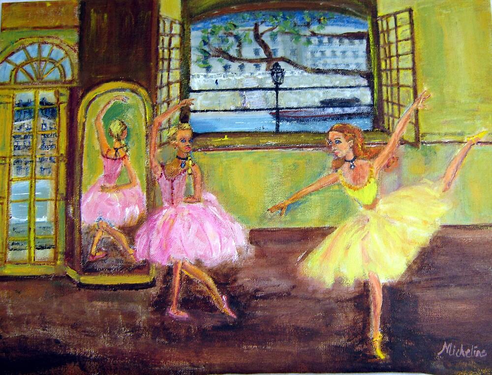 Paris Dancers by micheline