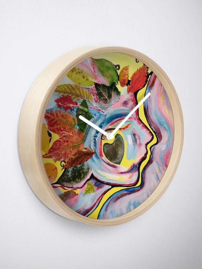 Alternate view of September Muse Clock
