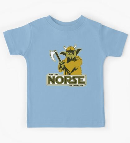 May The Norse Be With You Kids Clothes
