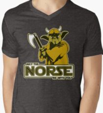 May The Norse Be With You Mens V-Neck T-Shirt