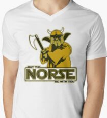 May The Norse Be With You Men's V-Neck T-Shirt