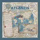 Locating Atlantis (blue)  by GuerrillaCarto