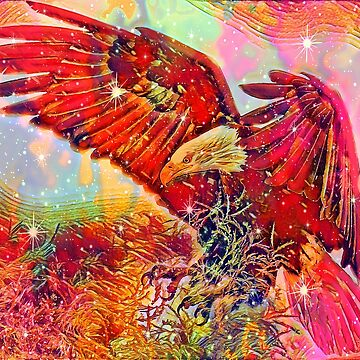 Eagle Abstract by sandywv
