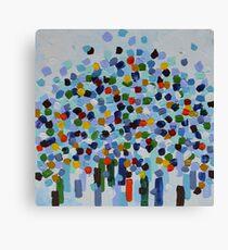 Tree of Life (Blue) Canvas Print