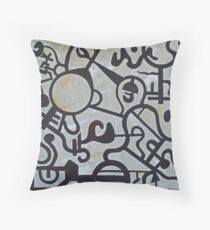 Henry Abstract Throw Pillow