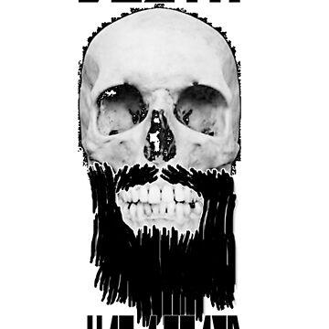Death has a beard by Jebus13