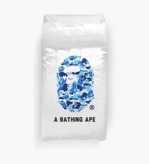A Bathing Ape Blue Duvet Cover