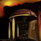 ancient pavilion....... abstract time structures by banrai