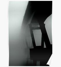 Mission Bridge in the Fog Poster