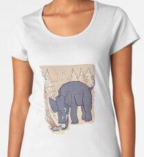 "Calvé-Delft's Winterboekje (The Microphones, ""The Glow Pt. 2"") Women's Premium T-Shirt"