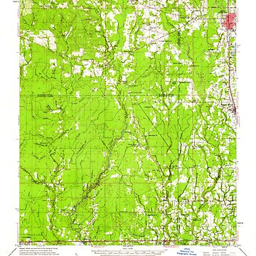 USGS TOPO Map Louisiana LA Amite 334206 1959 62500 by wetdryvac