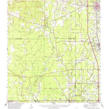 USGS TOPO Map Louisiana LA Amite 334208 1974 62500 by wetdryvac