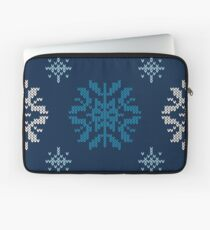 Christmas Knitted Design Laptop Sleeve
