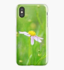 Textured flowers iPhone Case/Skin