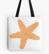 Boxy Starfish - White  Tote Bag