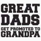 Great Dads Get Promoted To Grandpa by artvia