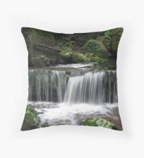 Watagan Waterfall 1 Throw Pillow