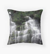 Watagan Waterfall 2 Throw Pillow