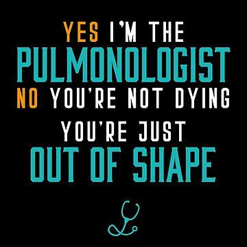 Hospital Pulmonologist by BlueRockDesigns