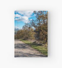 Road Less Traveled in the Mountains of Southern Italy Hardcover Journal