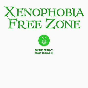 Xenophobia Free Zone by RangerRoger
