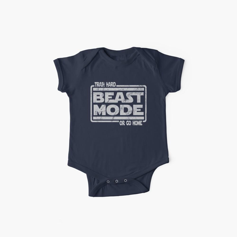 Beast Mode - Hart trainieren oder nach Hause gehen Baby Bodys