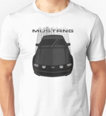 Mustang GT 2005 to 2009 - Black Unisex T-Shirt