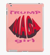 Trumpfmädchen MAGA iPad-Hülle & Klebefolie