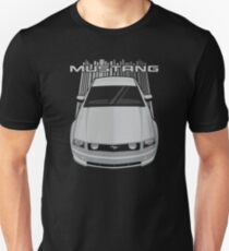 Mustang GT 2005 to 2009 - Silver Unisex T-Shirt