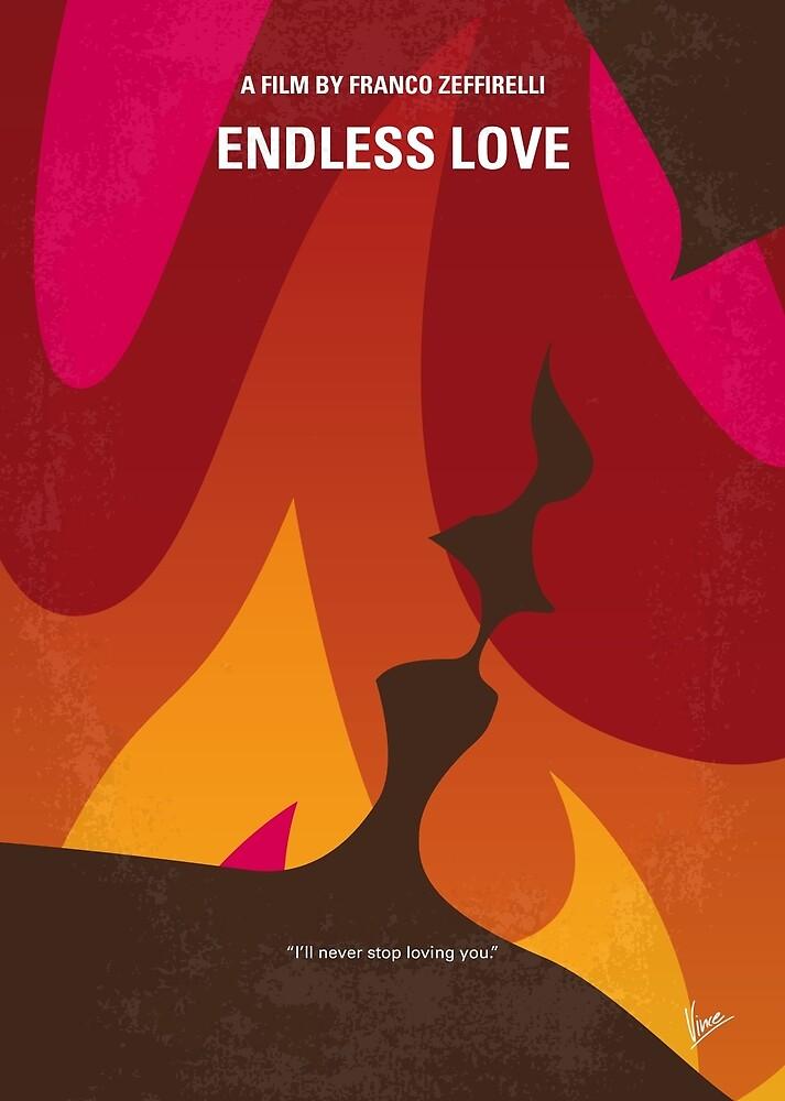 No1023 Mein minimales Filmplakat von My Endless Love von ChungKong Art