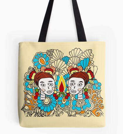 Sugar skull sisters from Frenchtoastygood  Tote Bag