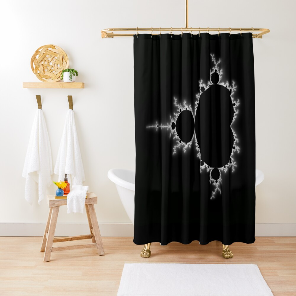 Simple Mandelbrot Shower Curtain